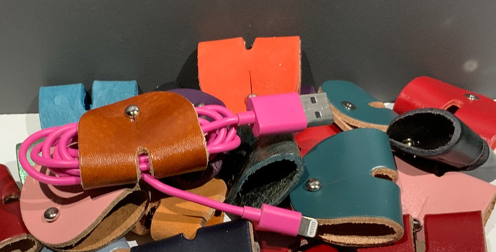 Leather Cable Tidy