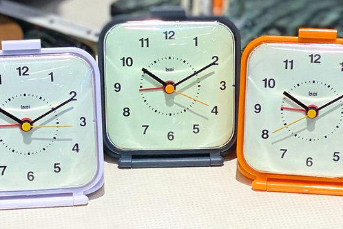 Square Foldable Travel Alarm Clock
