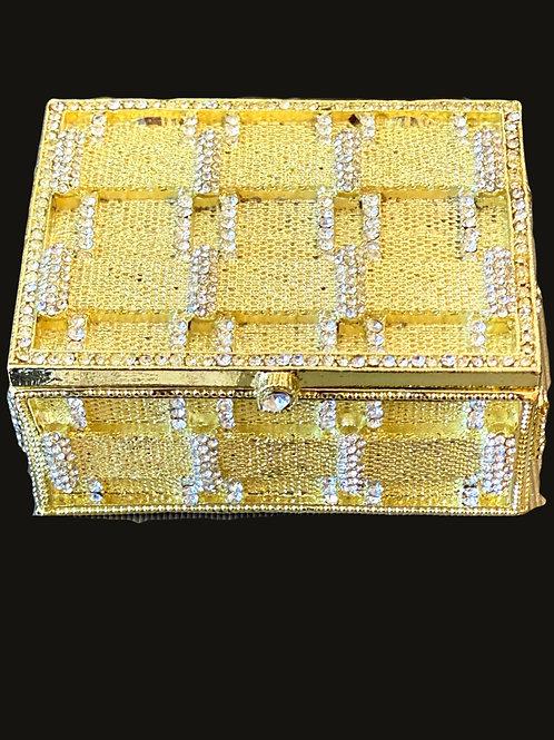 Gold and Crystal Box