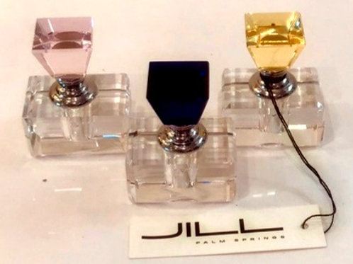Set of Three Small Perfume Bottles