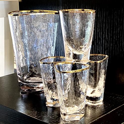 Triangle Glassware