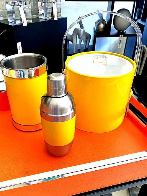 Yellow Barware