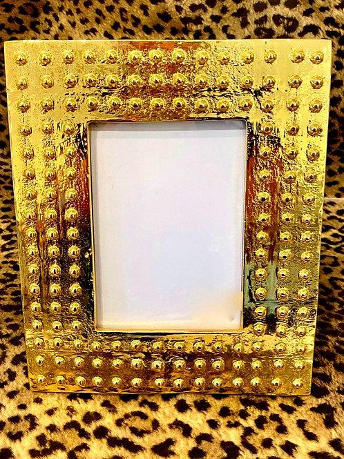 Gold Studded Frame