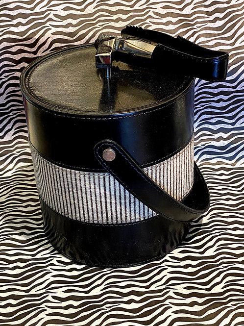 Cowhide Stripe Ice Bucket