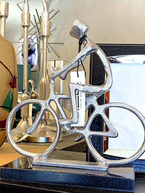 Man on Bike Statute