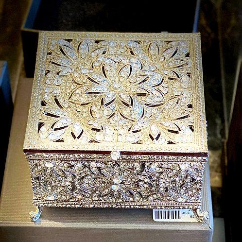 Rhinestone Encrusted Box