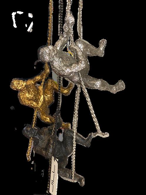 Hanging Men Wall Sculptures