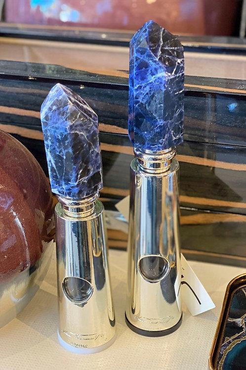 Blue Quartz Salt & Pepper Grinders