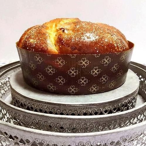 Козунак с бадеми, стафиди и ванилия по рецепта на шеф Ради Стамболов 0.500 кг.