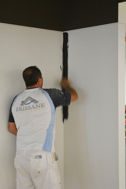 APPLICATION OF MAGNETIC PAINT