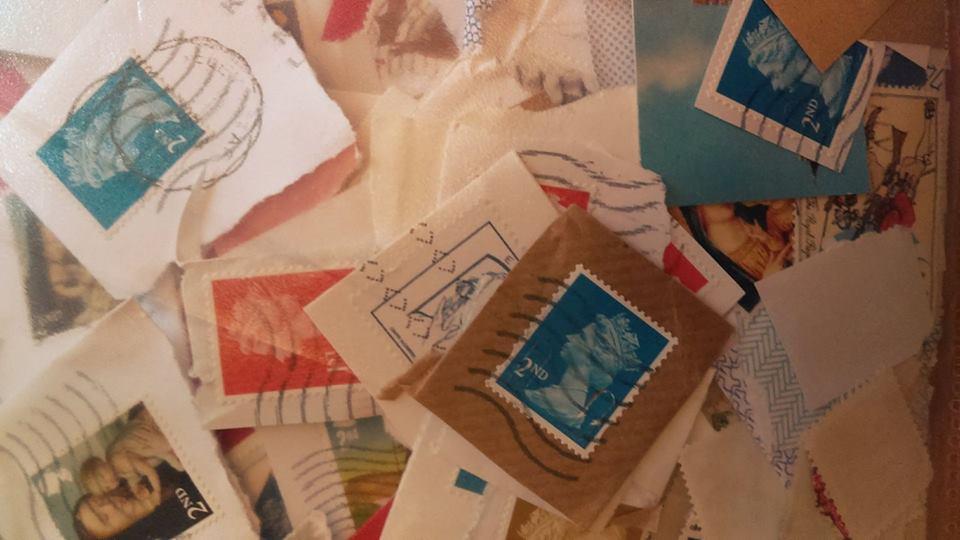 franked stamps