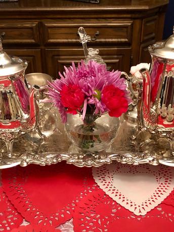 Silver Tea Server
