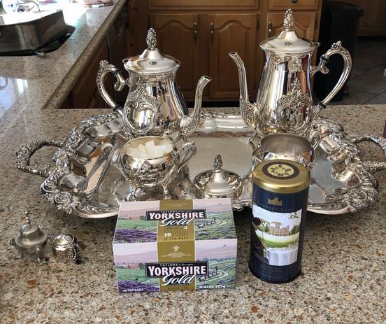 Featured Teas: Downton Abbey Estate Blend & Yorkshire Gold