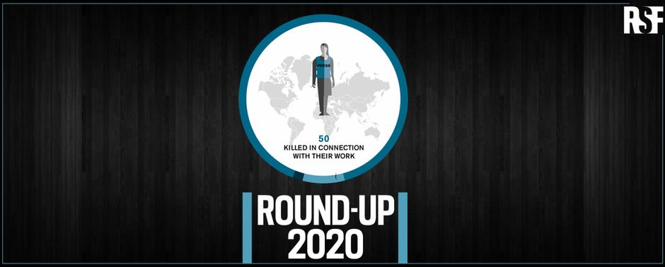 Vuonna 2020 surmattiin 50 toimittajaa, joista vain kolmannes konfliktialueilla