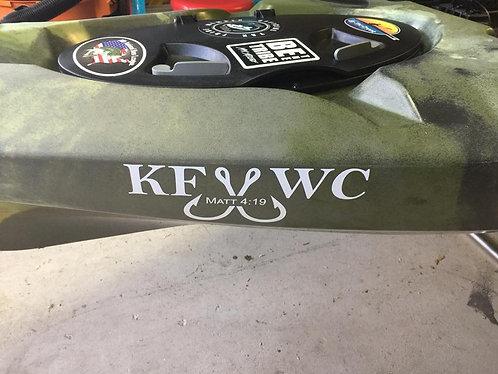 KFWC Vinyl Decal
