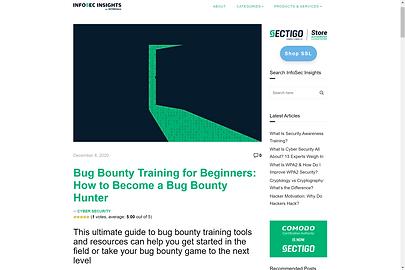 Bug Bounty for Beginners article - Amara