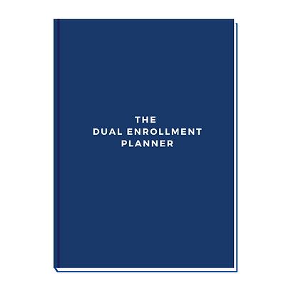 The Dual Enrollment Planner - Dual Credi