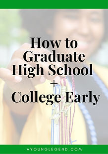 How to Graduate High School + College Ea
