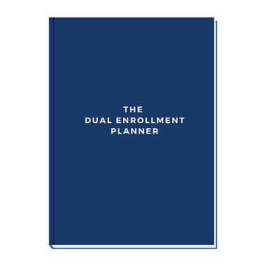 The Dual Enrollment Planner Cover - Dual