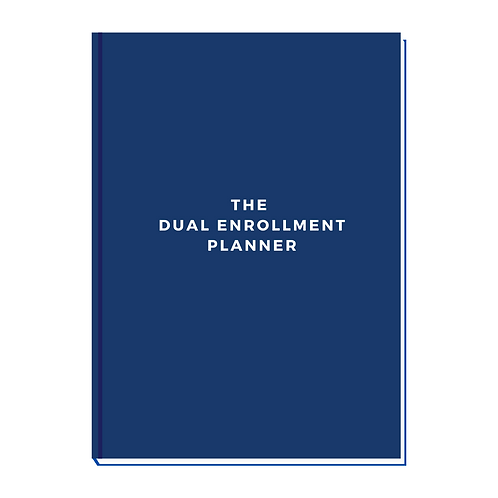 The Dual Enrollment Planner