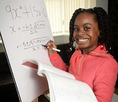 Esther Okade, 13-Year-Old Math Genius