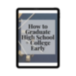 How to Graduate High School + College Ea