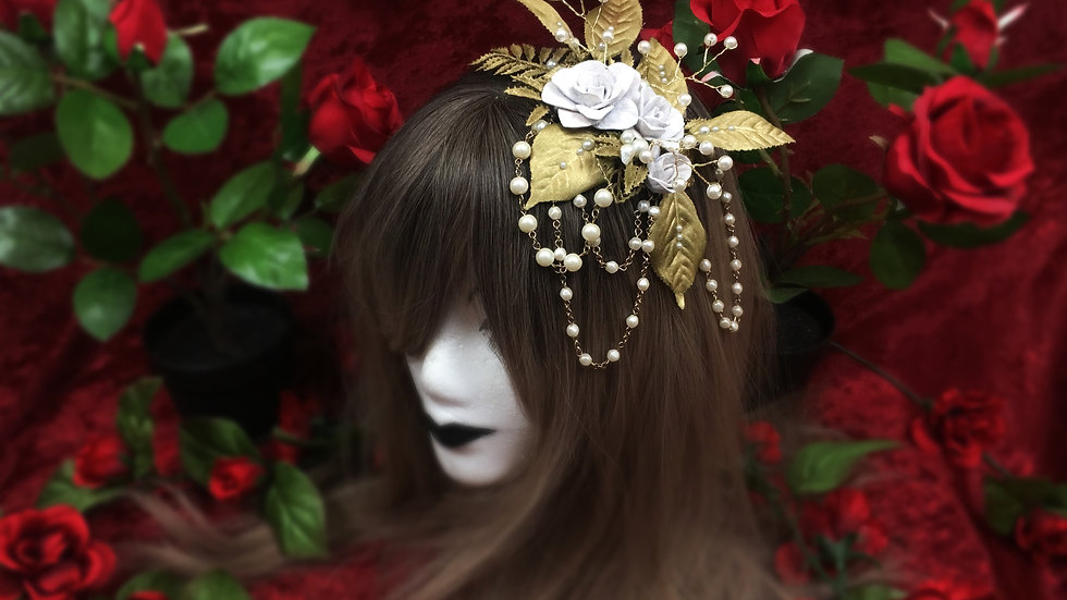 Rose Garden Headband D2519