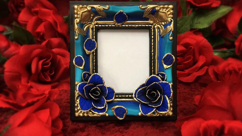 Ocean Rose Treasure Magnet Cheki Frame