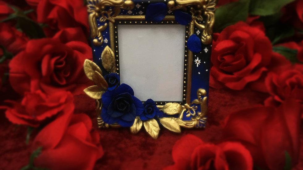 Starry Night Rose Garden Frame
