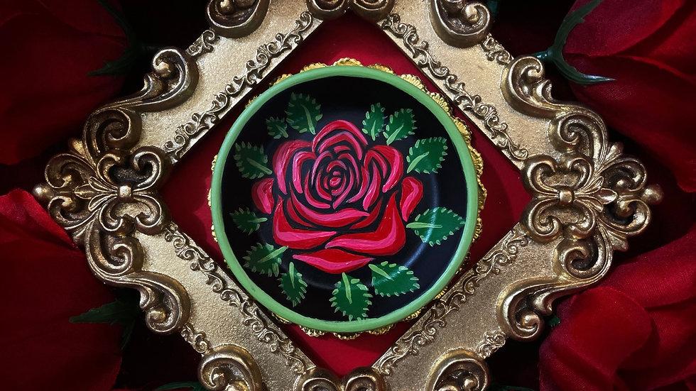 Centered Rose Dish