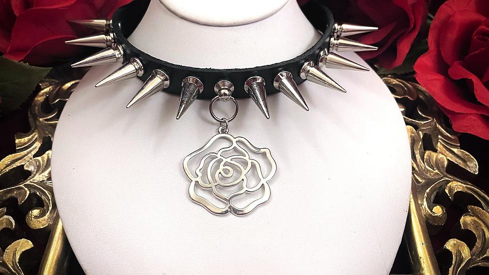 Spiked Rose Collar v2