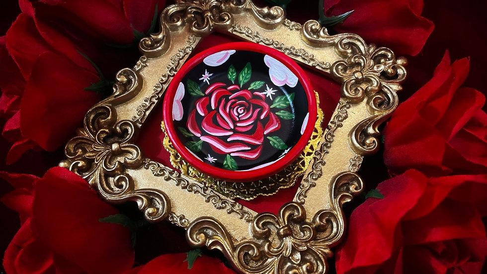 Cloudy Rose Dish