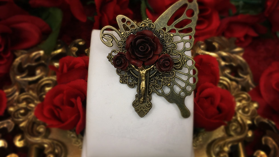 Vampire's Requiem Butterfly Brooch