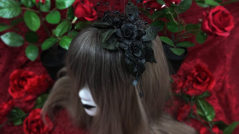Rose Garden Headband D2919