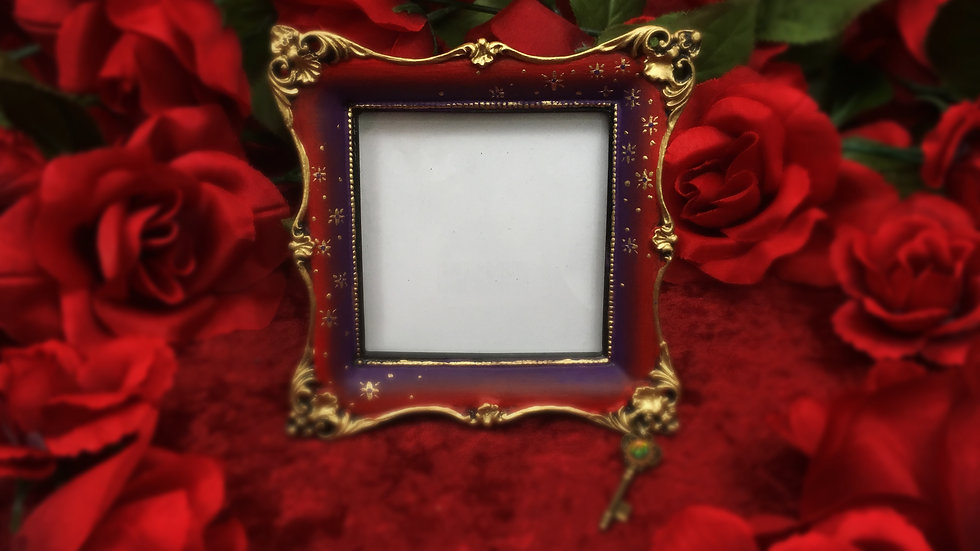 Red & Purple Stars Frame