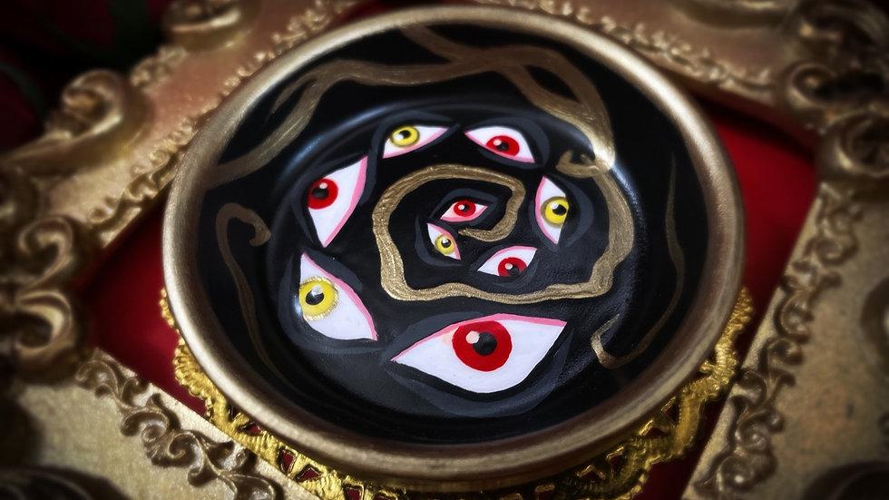 Eyes Spiral Tray