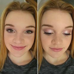Homecoming makeup