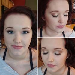 Prom airbrush makeup