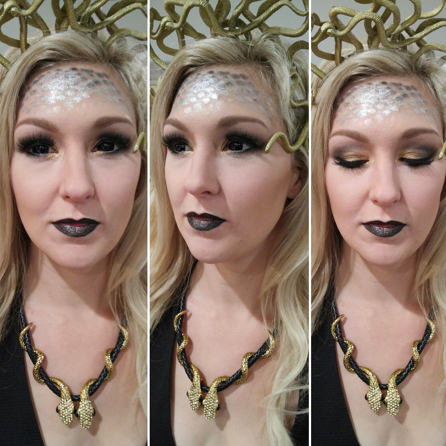 Medusa makeup halloween