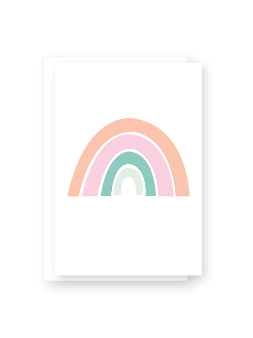 Summer Rainbow Card Pack