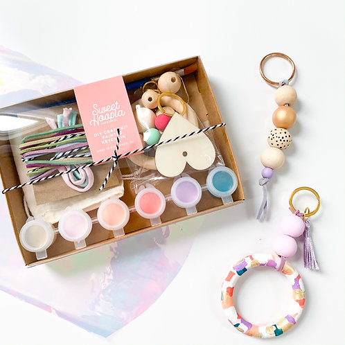 Painted Keychain DIY Craft Kit