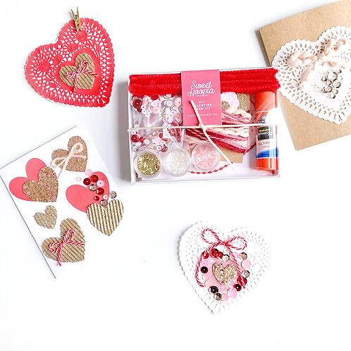 DIY Valentine Card Craft Kit