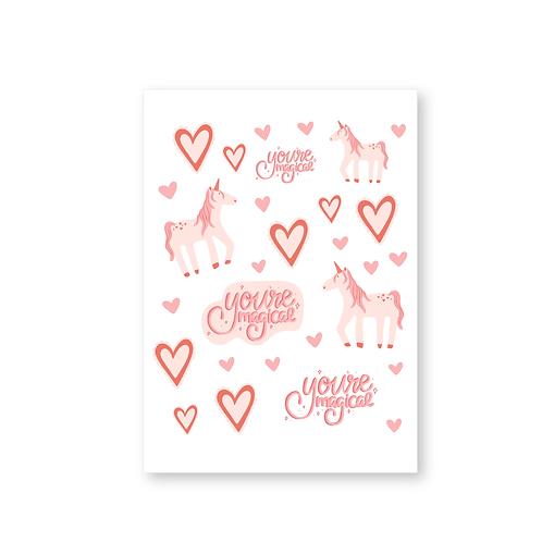 You're Magical Sticker Sheet