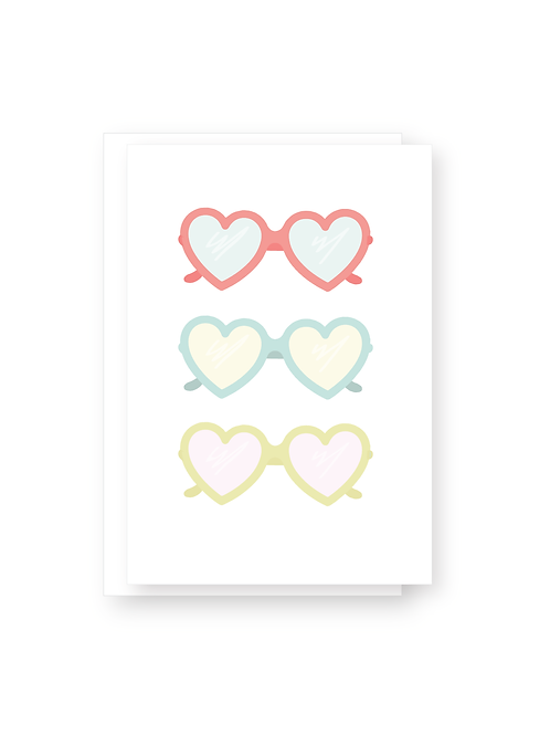 Wholesale Heart Eyes Card Pack