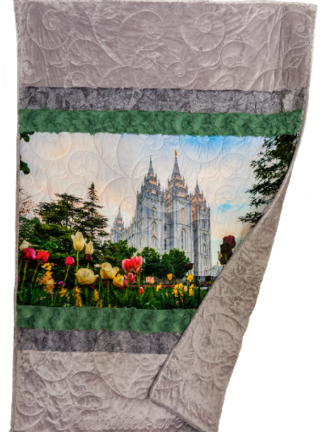 Complete Temple Quilt Kit