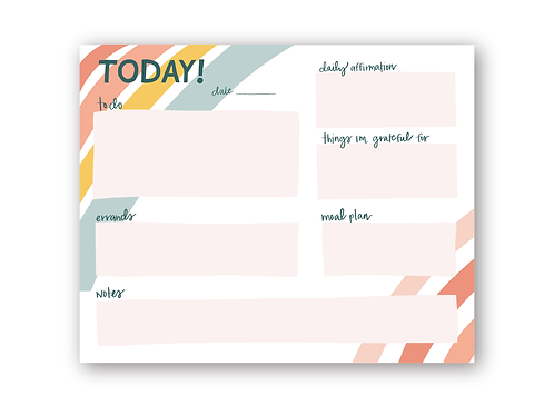 Wholesale Today! Notepad