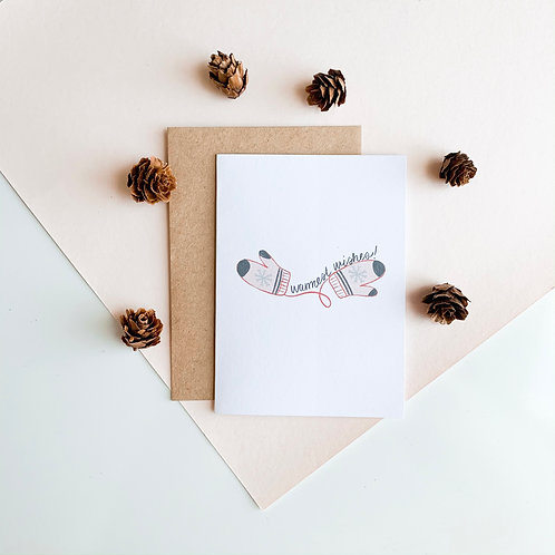 Warm Wishes Christmas Card Pack