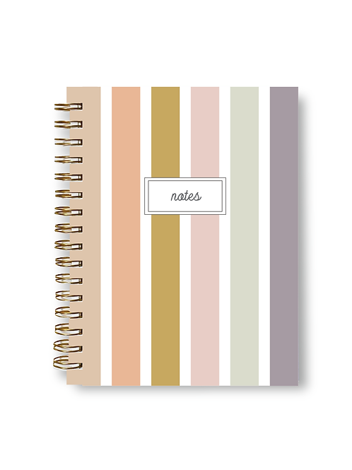 Wholesale Vintage Stripe Notebook