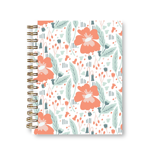 Wholesale Pretty Pansy Notebook