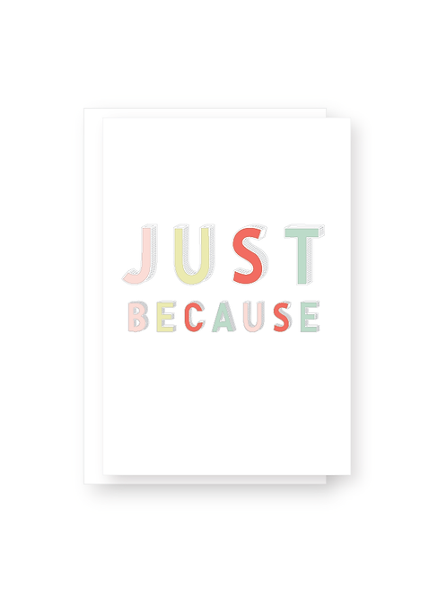 Wholesale Just Because Card Pack
